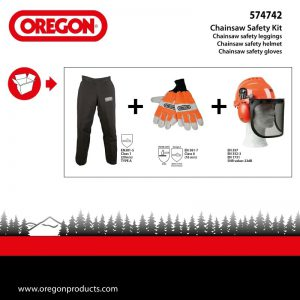 Oregon Occasional Domestic Chainsaw Safety